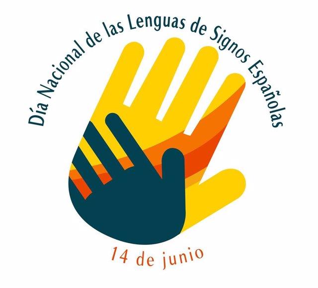 Logo Día Nacional de las Lenguas de Signos Españolas