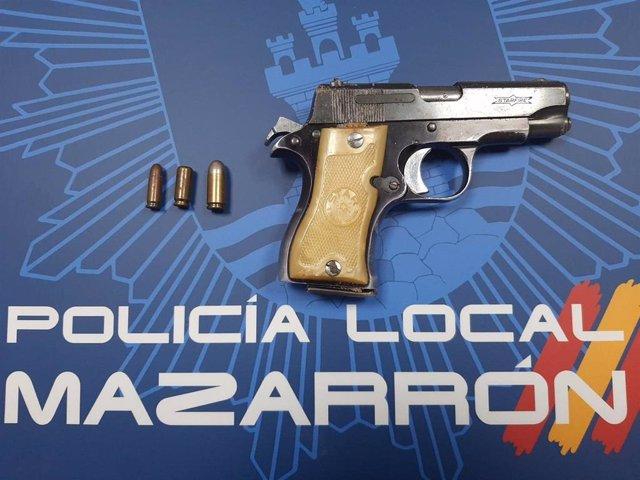 Arma intervenida