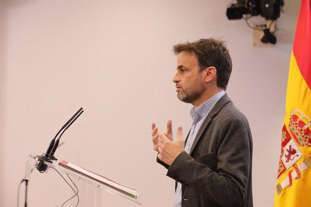 Arxiu - El president del grup parlamentari d'Unides Podem al Congrés, Jaume Asens.