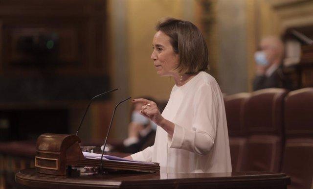 Arxiu - La portaveu del PP al Congrés dels Diputats, Cuca Gamarra.