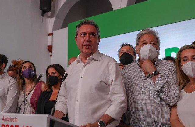 L'alcalde de Sevilla, Juan Espadas, guanyador de les primàries del PSOE-A.