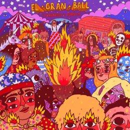 Caràtula del disc 'El gran ball', de Txarango.
