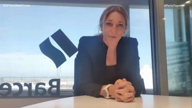 La subdirectora general de Comercial y Márqueting del Puerto de Barcelona, Carla Salvadó