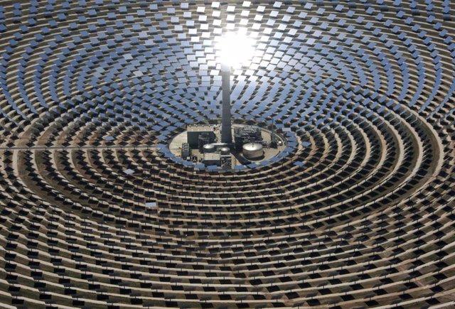 Archivo - Planta Gemasolar de Q-Energy