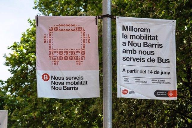 El próximo lunes se hará efectiva la reestructuración de los autobuses de la zona norte del distrito barcelonés de Nou Barris