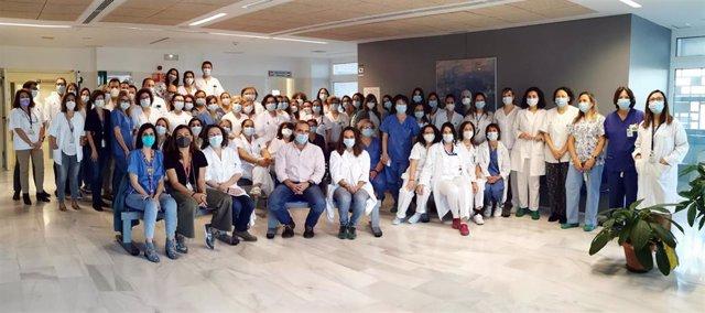 Equipo de profesionales de Ginecología y Obstetricia de Valme