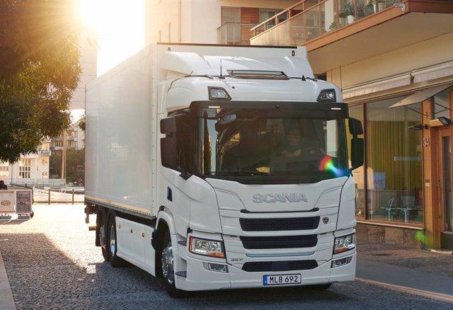 Vehículo de Scania.