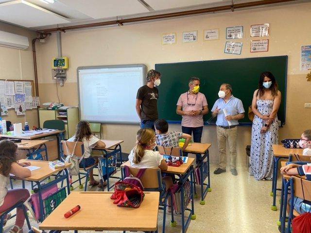 Visita al colegio Navas de Tolosa.