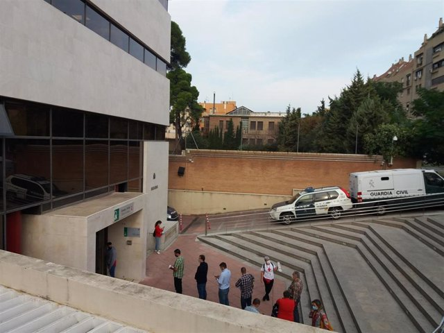 Archivo - Edificio judicial de Caleta, en imagen de archivo