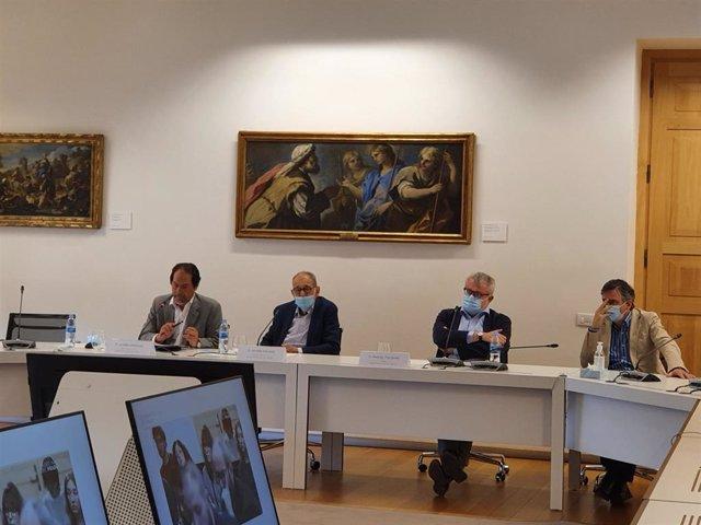 El Museo Nacional del Prado ha presentado este lunes en el Casón del Buen Retiro las líneas de actuación de su Centro de Estudios
