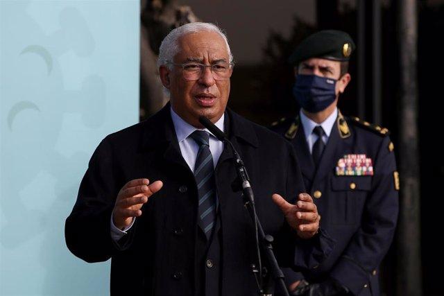 Archivo - El primer ministro de Portugal, António Costa