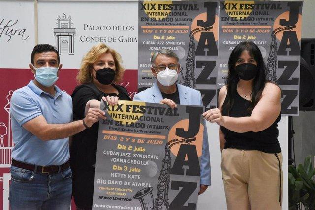 Presentación del festival 'Jazz en el Lago' de Atarfe (Granada)