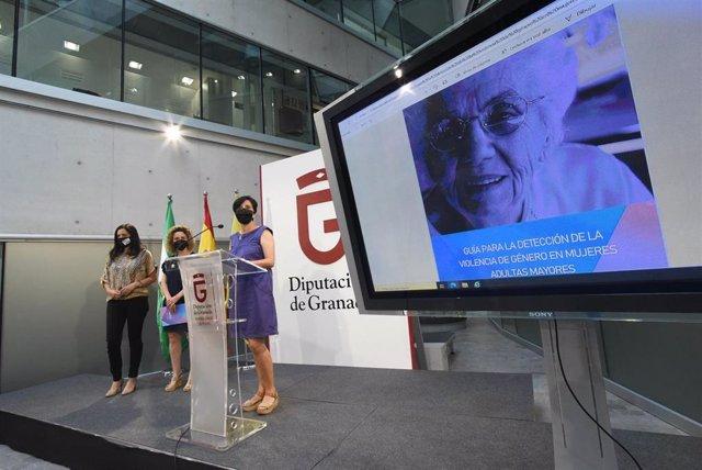 La Diputación de Granada presenta la Guía para la Detección de la Violencia de Género en Mujeres Adultas Mayores