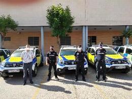 Nuevos coches patrulla de Dos Hermanas