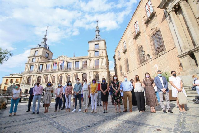 Minuto de silencio convocado en Toledo de condena contra los asesinatos machistas
