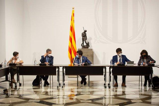 Taula institucional per debatre sobre el futur de l'Aeroport de Barcelona