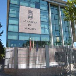 Archivo - Fachada de la Asamblea de Madrid