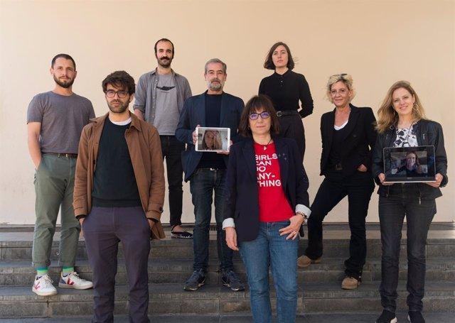 Junta de l'Acadèmia del Cinema Català, presidida per Judith Colell