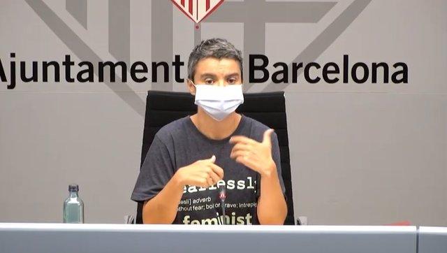 Archivo - La concejala de Vivienda y Rehabilitación de Barcelona, Lucía Martín (Archivo)