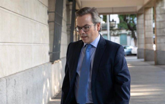 Archivo - El juez José Ignacio Vilaplana