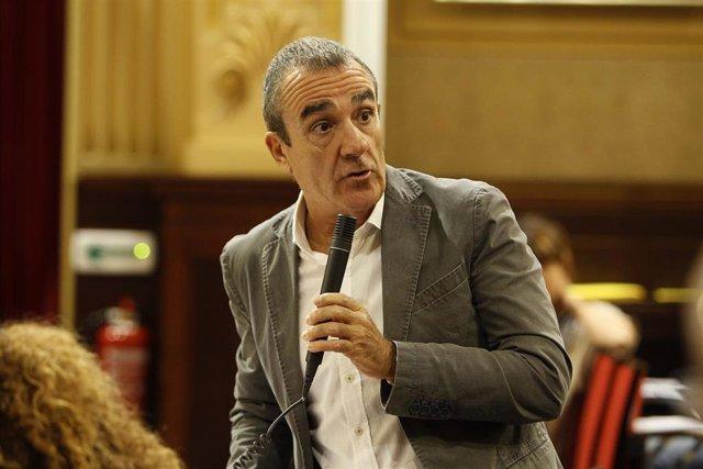 Archivo - El consejero de Transición Energética y Sectores Productivos, Juan Pedro Yllanes Suárez.