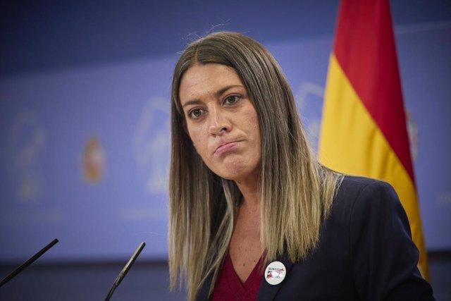 Arxiu - La portaveu de Junts per Catalunya, Míriam Nogueras.