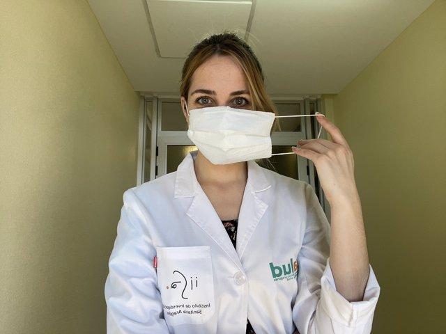 Un equipo de investigadores de Aragón desarrolla mascarillas quirúrgicas a partir de botellas de plástico.