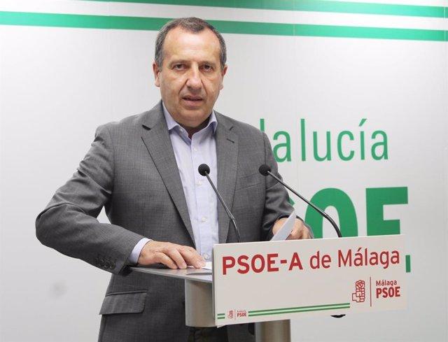 """Málaga.- Ruiz Espejo da la enhorabuena a Espadas: """"El PSOE sale más fuerte y más unido de este proceso"""" de primarias"""