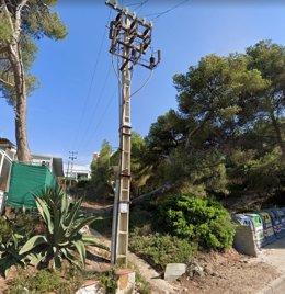 Endesa sotierra la última línea eléctrica aérea de la zona turística de Cap Salou (Tarragona)
