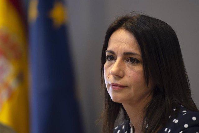Archivo - La secretaria de Estado de Sanidad, Silvia Calzón durante una rueda de prensa para informar sobre el avance de la pandemia por COVID-19, a 6 de mayo de 2021, en Madrid (España).  Las comunidades autónomas han notificado este jueves al Ministerio