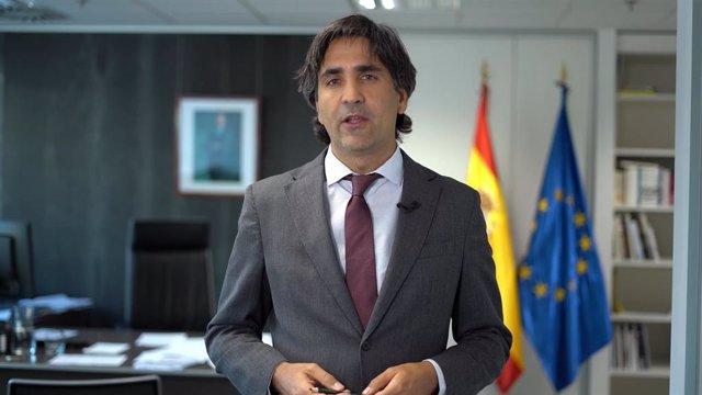 El secretario de Estado de Economía y Apoyo a la Empresa, Gonzalo García Andrés.