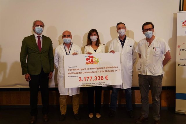 CRIS contra el Cáncer renueva su acuerdo de colaboración con el Hospital Universitario 12 de Octubre