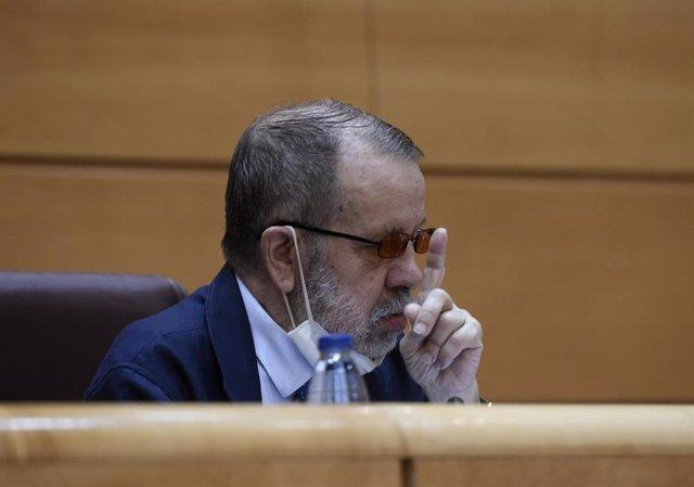 El Defensor del Pueblo en funciones, Francisco Miguel Fernández Marugán.