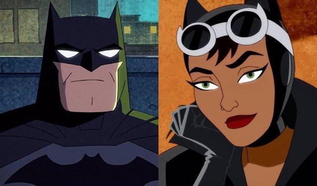 Batman y Catwoman compartían una escena de intimidad en Harley Quinn que ha sido censurada