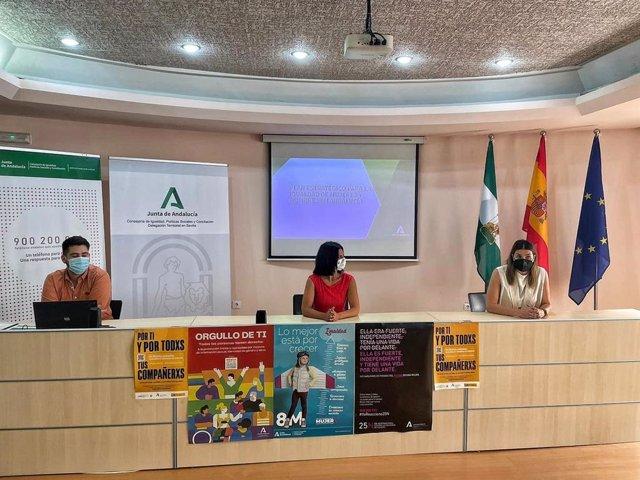 Presentación en el Plan estratégico de igualdad de la Junta en el IAM