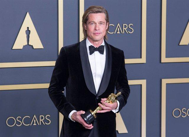 Brad Pitt gana el Oscar a mejor actor de reparto por Érase una vez en Hollywood