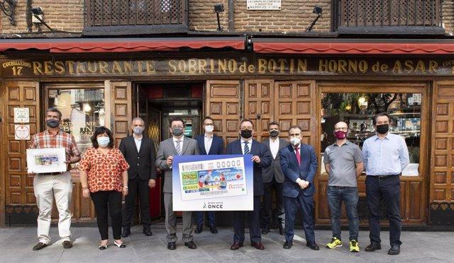 La ONCE dedica su cupón del sorteo del jueves a la hostelería para que 'Sigamos disfrutando juntos'