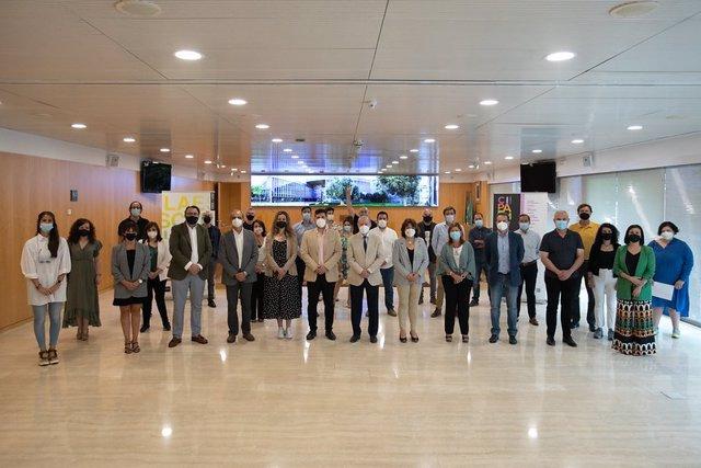 Presentación de la programación cultural de la Diputación