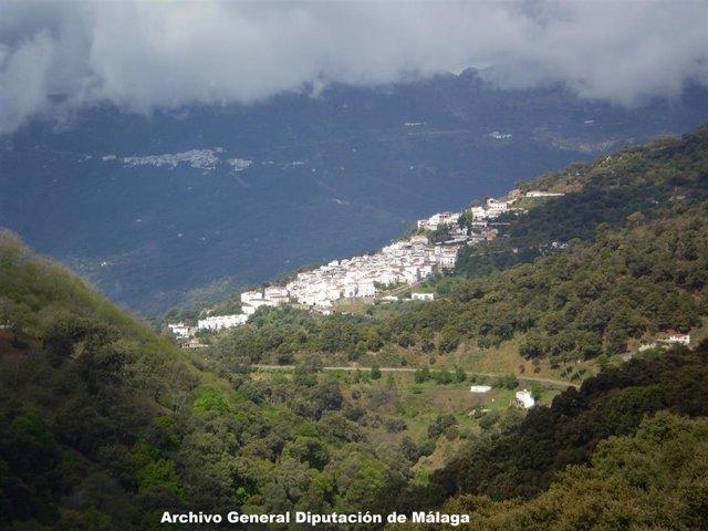 Archivo - Vista del municipio malagueño de Jubrique