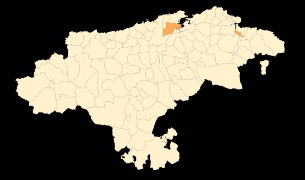Toda Cantabria está en riesgo bajo menos Camargo y Colindres, en nivel 2