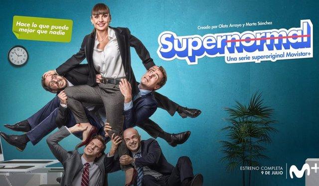 Miren Ibarguren desvela la fecha de estreno de Supernormal, nueva serie de Movistar+