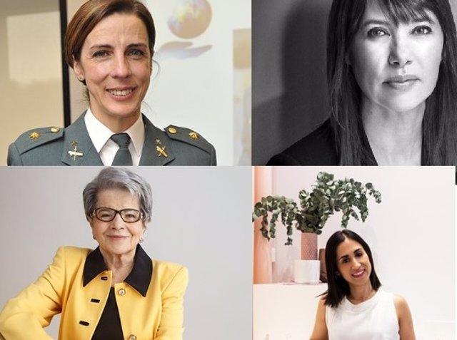 Silvia Gil, Mabel Lozano, Victoria Fernández y Cristina Aristoy, ganadoras de los Premios EVAP 2021