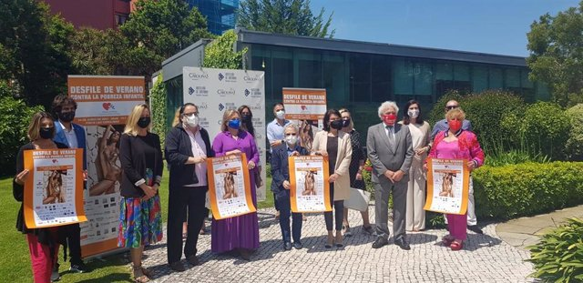 Presentación del 'Desfile de Verano Contra la Pobreza Infantil'