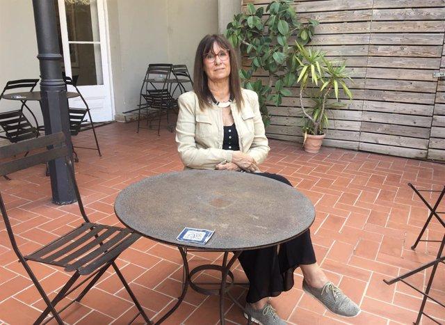 La catedràtica i escriptora Imma Tubella, guanyadora del Premi Nèstor Luján de Novel·la Històrica per 'Els insubmissos del mar'.