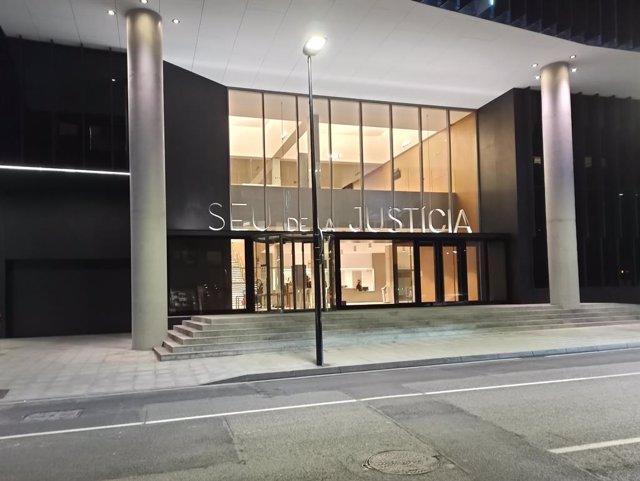 La sede de la Justicia andorrana
