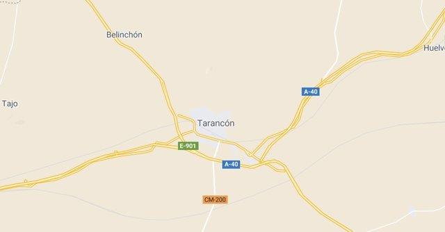 Imagen de Tarancón en Google Maps