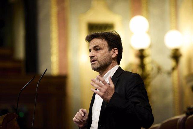 El president del grup parlamentari d'Unides Podem en el Congrés, Jaume Asens.