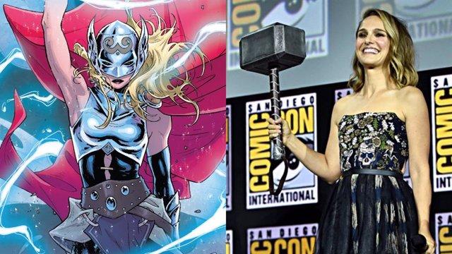 Natalie Portman como Thor en Love and Thunder