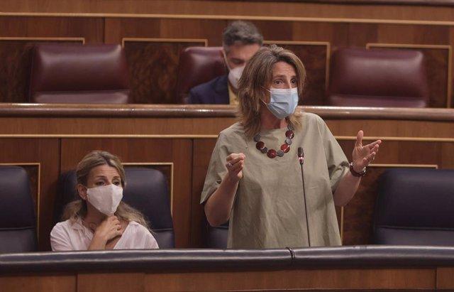 La vicepresidenta cuarta y ministra para la Transición Ecológica y Reto Demográfico, Teresa Ribera