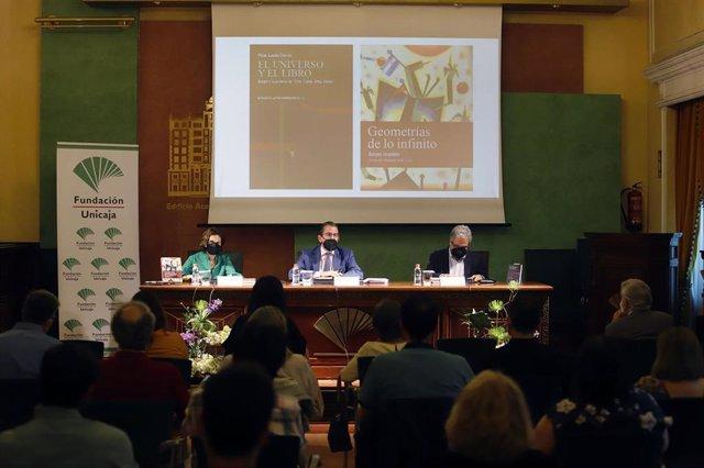 Presentación de un estudio crítico de los cuentos de Borges coeditado por la Fundación Unicaja y la UMA